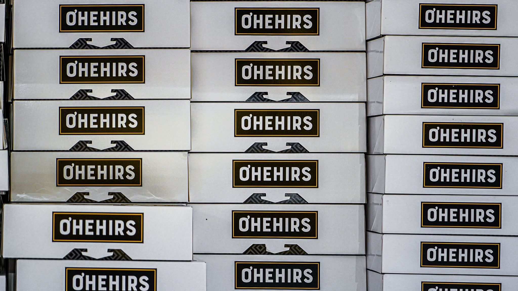 Pastry Boxes Reading 'O'Hehir's'