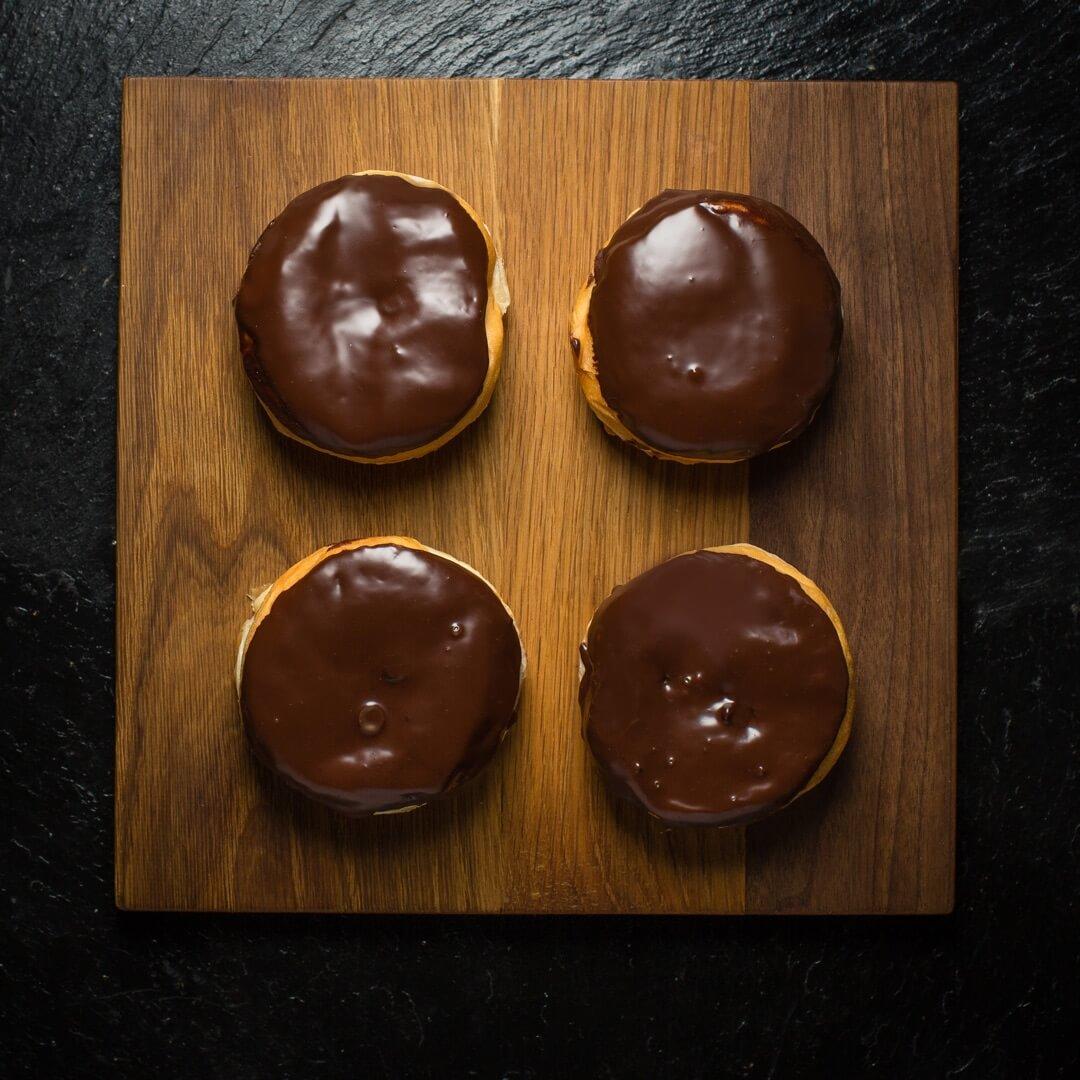 Boston Cream Donut (Box Of 6)