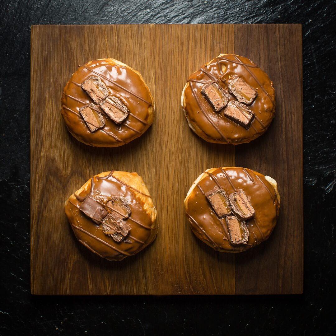 Mars Bar Donut (Box Of 6)