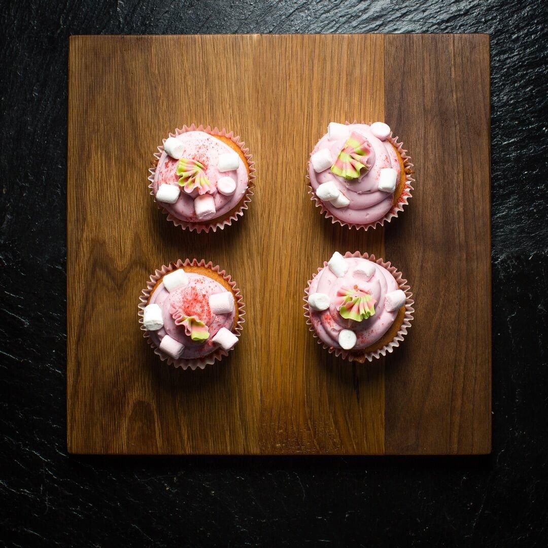 Mallow & Strawberry Cupcake (Box Of 6)